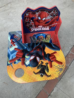 Spiderman Kid's Desk and Chair for Sale in Los Angeles, CA
