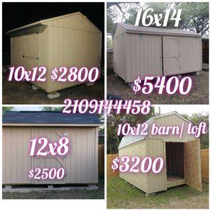 Shed 10x12 singledoor for Sale in San Antonio, TX
