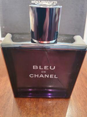 Bleu de chanel 3.4 oz perfume for Sale in San Bernardino, CA