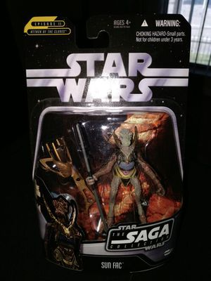 Star Wars Sun Fac The Saga Collection (2006). for Sale in Dallas, TX