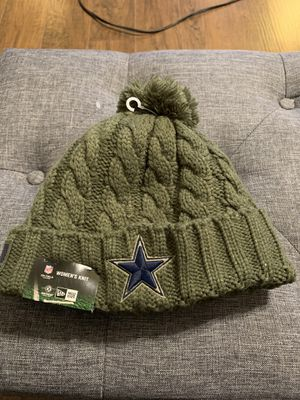 Dallas Cowboys Salute To Service Knit Hat for Sale in Ceres, CA