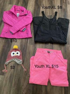 """Cold weather """"ski"""" clothes youth & adult for Sale in Burleson, TX"""