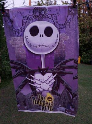 Jack skellington Nightmare before Christmas tapestry for Sale in Whittier, CA