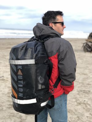 Kaution elite dry bag duffle backpack $100coupon for Sale in Sunnyvale, CA
