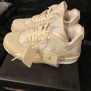 Jordan 4 Off White for Sale in Chicago, IL