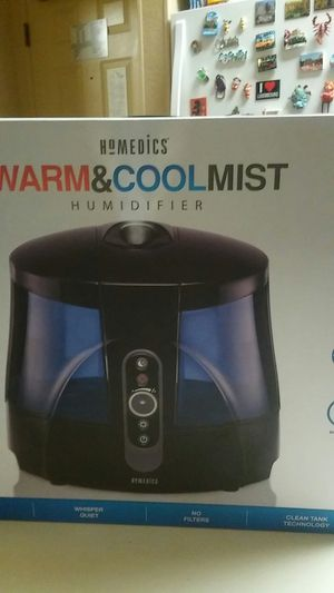 Homedics Warm &Cool Mist Humidifier for Sale in Plano, TX