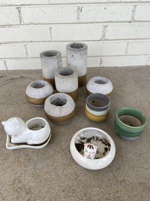 Planters and pots: $1 each for Sale in Dallas, TX