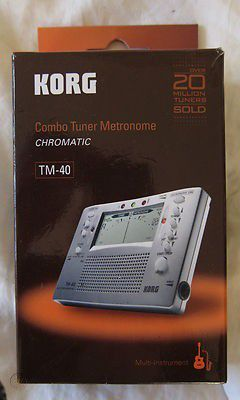 Korg Metronome and Tuner For Guitar and Bass New in Box Works Excellent for Sale in Irving, TX