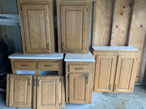 Cabinets with counters for Sale in Dearborn, MI