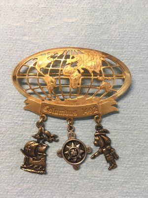 Brass lapel pin for Sale in Manor, TX