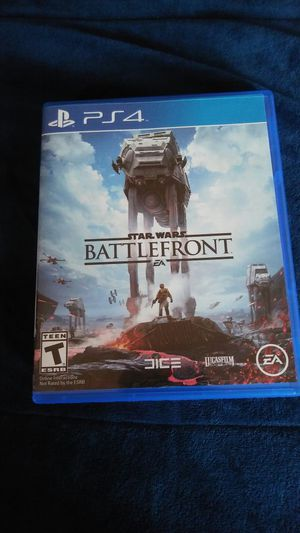 Star Wars Battlefront PS4 for Sale in Chicago, IL