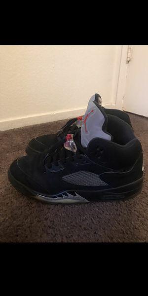 Jordan Retro Metalic 5s 2016 (10.5) for Sale in Stockton, CA