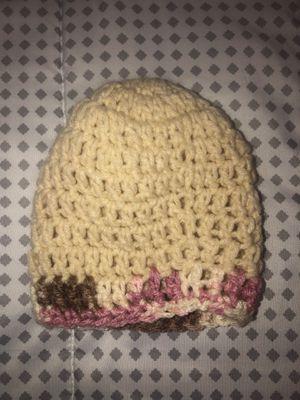 Handmade Crochet Beanie for Sale in Davenport, FL