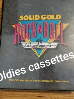 Solid Gold Rock N Roll Collection Tapes for Sale in West Covina,  CA