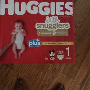 Brand New Size 1 Huggies Lil Snugglers Diapers for Sale in Queens, NY