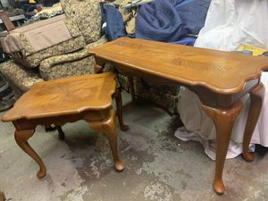 3 oak living room tables for Sale in Freedom, PA