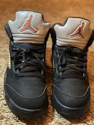 Jordan Retro 5 black/metallic size 9 for Sale in Dallas, TX