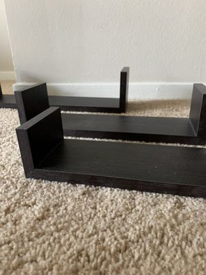 Wood wall shelves for Sale in Chicago, IL