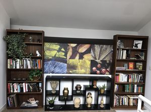 Two 7ft Wooden Bookshelves for Sale in Chicago, IL
