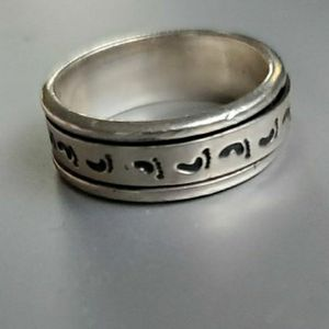 Beautiful Sterling Silver 925 Ring Size 8 Stamped (Heavy) for Sale in Virginia Beach, VA