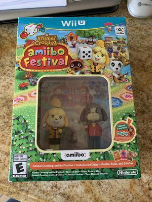 Animal Crossing Nintendo Wii U for Sale in Ontario, CA