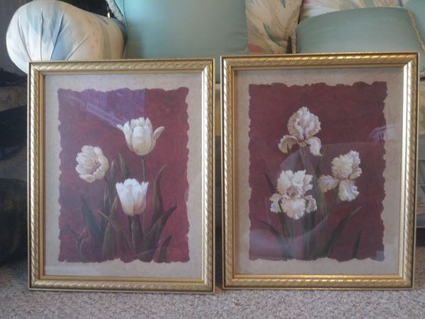 Home Interiors Wall Picture Pair