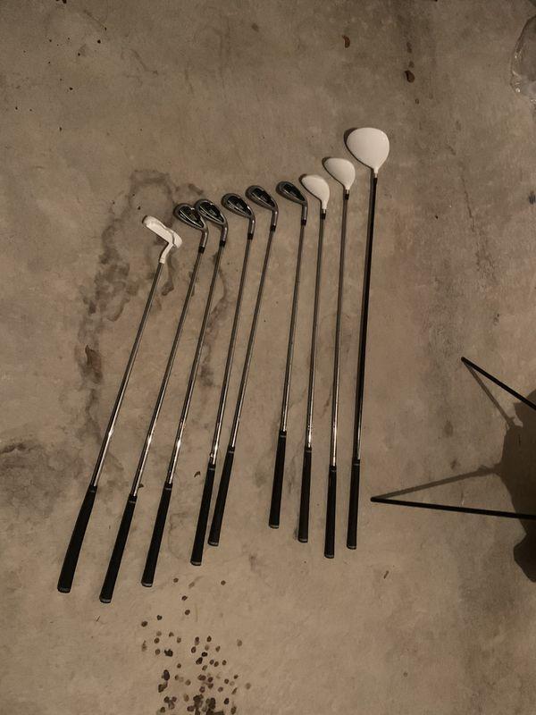 TiTech Golf club set
