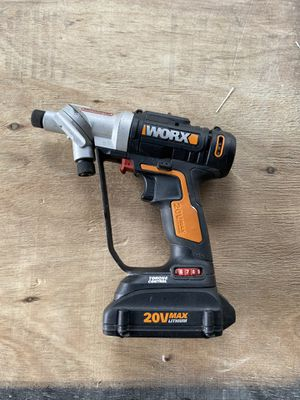 WORX SwitchDriver drill/driver all in one. 2 batteries and charger for Sale in Hollywood, FL