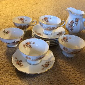 Vintage Mitterteich Bavaria China Norway Rose Pattern for Sale in Hershey, PA
