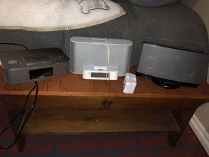 Bose/Sony/Phillips speakers for Sale in Oklahoma City, OK