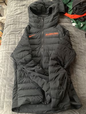 Nike Bubble Jacket w/Hood (Oklahoma State) Sz M for Sale in Gambrills, MD