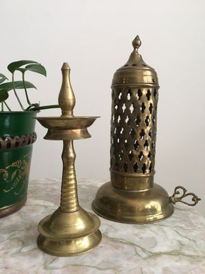 Vintage Indian brass home decor for Sale in Fairfax, VA