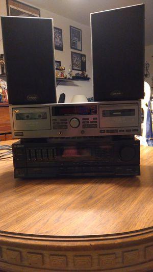 Older hi end stereo system for Sale in Williamstown, NJ
