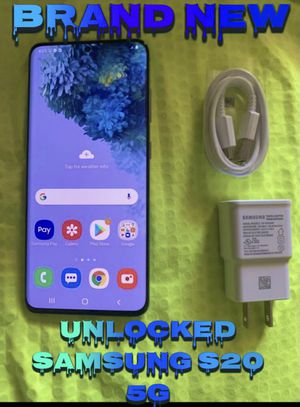 Unlocked galaxy s20 5g 128gb for Sale in Phoenix, AZ