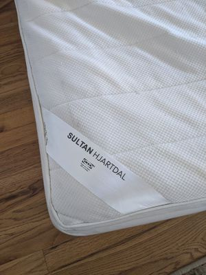 Ikea Sultan Hjartdal King size mattress - mattress only, no foundation for Sale in Erie, CO