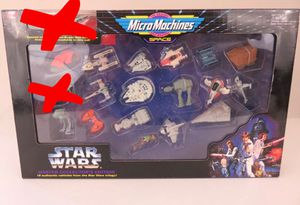 VINTAGE Micro Machines STAR WARS master collection edition for Sale in Grand Prairie, TX