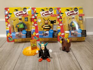 Simpsons intelli-tronic toy lot! for Sale in Oakbrook Terrace, IL