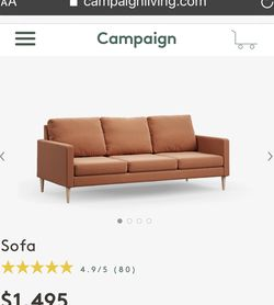 Mid Century Couch for Sale in Austin,  TX