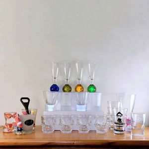 Moving | 23 Shot Glasses + FREE Beer Opener for Sale in San Jose, CA