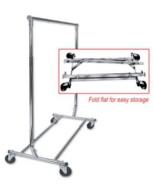 Heavy Duty Collapsible Salesmen Rolling Rack for Sale in Miami, FL