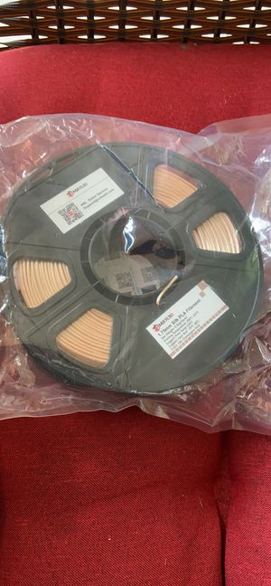Mila3d 0.5 kg spool silk champagne gold pls filament new for Sale in Valrico, FL