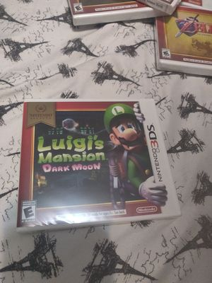 Luigi's Mansion dark moon brand new 3ds for Sale in The Bronx, NY