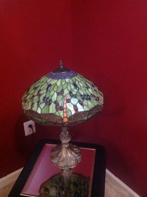 Beautiful lamp with gorgeous shade for Sale in Gainesville, VA