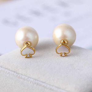 Kate spade White peach heart Pearl Earrings for Sale in Alhambra, CA