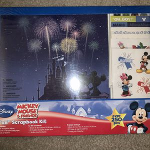 Mickey Mouse Scrap Book Kit for Sale in West Hartford, CT