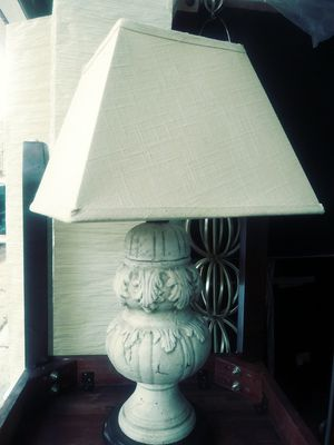 Antique Lamp night table not included for Sale in Fort Washington, MD