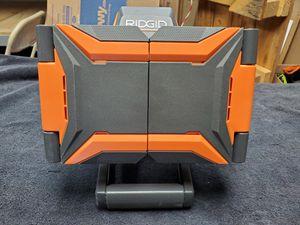 Ridgid 18v hybrid cordless folding panel light for Sale in Mesa, AZ