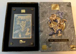 Spiderman 24k Gold Card for Sale in Burbank, CA