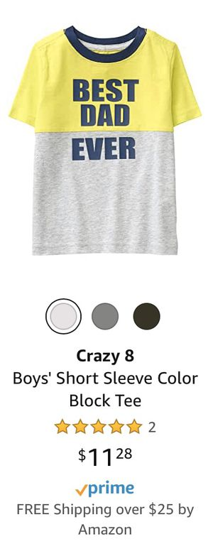 NEW WITH TAGS CRAZY 8 TODDLER SIZE 2T T-SHIRT for Sale in Rancho Cucamonga, CA