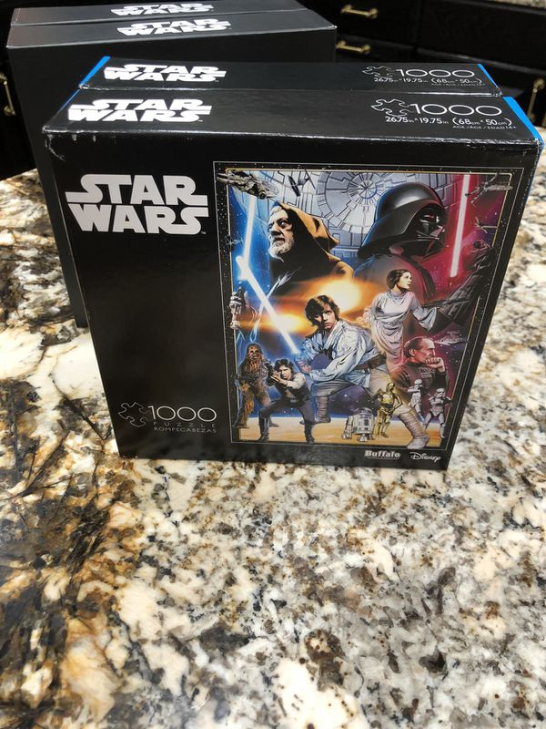 Buffalo Games & Puzzles Star Wars A New Hope 1000 Piece Jigsaw Puzzle